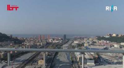 Embedded thumbnail for In volo sul Ponte Genova San Giorgio